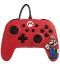 Enhanced Wired Controller -Mario- (Power A)
