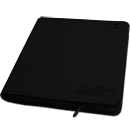 12-Pocket QuadRow ZipFolio -Black-