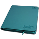 12-Pocket QuadRow ZipFolio -Petrol-
