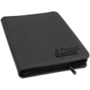8-Pocket ZipFolio -Black-