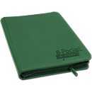 8-Pocket ZipFolio -Green-