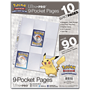 9-Pocket Pages for Pokémon (10 Pcs.)