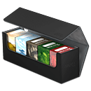 Arkhive Case 400+ inkl. 5 Deck Cases 80+ -Black-