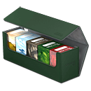 Arkhive Case 400+ inkl. 5 Deck Cases 80+ -Green-