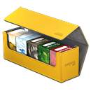 Arkhive Case 400+ inkl. 5 Deck Cases 80+ -Yellow-