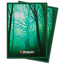 Card Sleeves Standard Matte -Unstable Lands Forest-