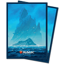 Card Sleeves Standard Matte -Unstable Lands Island-