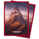 Card Sleeves Standard Matte -Unstable Lands Mountain-