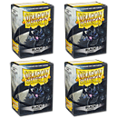 Dragon Shield Card Sleeves Standard -Black- 4er Set (400)