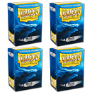 Dragon Shield Card Sleeves Standard -Blue- 4er Set (400)