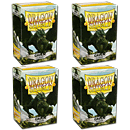 Dragon Shield Card Sleeves Standard -Green- 4er Set (400)