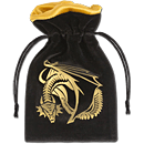 Dice Bag Golden Dragon -Black/Gold-