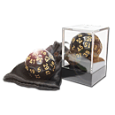 Dice D50 Solid -Black/Gold-