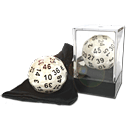 Dice D50 Solid -Pearl-