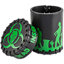Dice Cup Zombie -Black/Green-