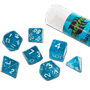 Dice Set Magic - Blue (Set of 7 16mm Dice)