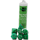Dice Set Solid - Green (Set of 7 16mm Dice)