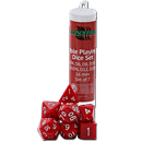 Dice Set Solid - Red (Set of 7 16mm Dice)