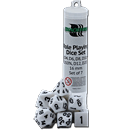 Dice Set Solid - White (Set of 7 16mm Dice)
