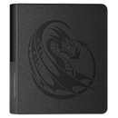 Dragon Shield Card Codex Portfolio 160 - Black Tribal