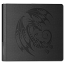 Dragon Shield Card Codex Portfolio 576 - Black Tribal