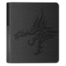 Dragon Shield Card Codex Portfolio 80 - Black Tribal