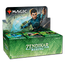 Magic Zendikar Rising Draft Booster Display -E-