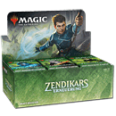 Magic Zendikars Erneuerung Draft Booster Display -D-