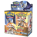 Pokémon Sonne und Mond Booster Display
