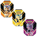 Pokémon Tin-Box Set 2020 Herbst (Pikachu / Endynalos / Evoli)