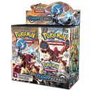 Pokémon XY - Dampfkessel Booster Display