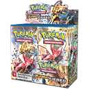 Pokémon XY - Turbofieber Booster Display