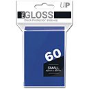 Deck Protector Sleeves Small -blue- (Trading Cards)
