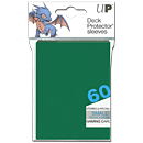 Deck Protector Sleeves Small -green- (Trading Cards)