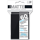 Card Sleeves Small Pro-Matte -Black- (Trading Cards)