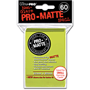 Card Sleeves Small Pro-Matte -Bright Lemon-