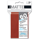 Card Sleeves Small Pro-Matte -Red-