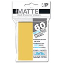Card Sleeves Small Pro-Matte -Yellow-