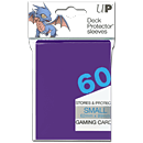 Deck Protector Sleeves Small -purple- (Trading Cards)