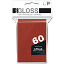 Deck Protector Sleeves Small -red- (Trading Cards)