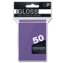 Deck Protector Sleeves Standard -purple- (Trading Cards)
