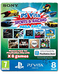 Memory Card PS Vita 8.0 GB - Sports & Racing Mega Pack (Sony)