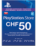 Playstation Store Guthaben CHF 50.-- (Sony) (PS Vita)