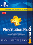 Playstation Plus Abonnement - 3 Monate (Sony)