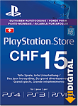Playstation Store Guthaben CHF 15.-- (Sony) (PS Vita-Digital)
