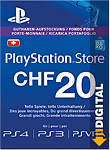 Playstation Store Guthaben CHF 20.-- (Sony) (PS Vita-Digital)