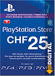 Playstation Store Guthaben CHF 25.-- (Sony) (PS Vita-Digital)