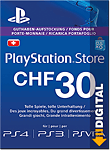 Playstation Store Guthaben CHF 30.-- (Sony) (PS Vita-Digital)