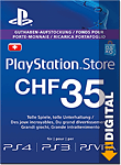 Playstation Store Guthaben CHF 35.-- (Sony) (PS Vita-Digital)