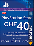 Playstation Store Guthaben CHF 40.-- (Sony) (PS Vita-Digital)